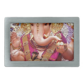 Ganesh (गणेश)  - Indian Elephant Deity Belt Buckle