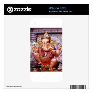 Ganesh (गणेश)  - Indian Elephant Deity Decals For The iPhone 4S