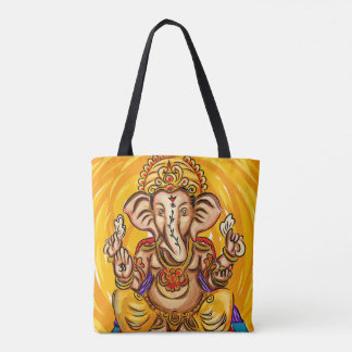 Ganesh all over printed Tote