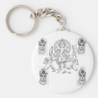 ganesh_and_shiva key chains
