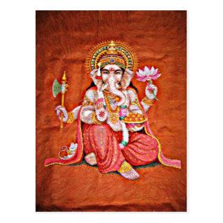 Ganesh Art Postcard