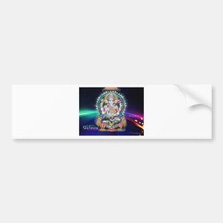 Ganesh Aura Bumper Sticker