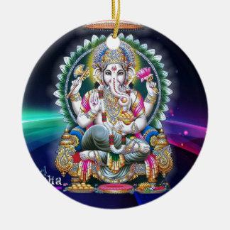 Ganesh Aura Ceramic Ornament