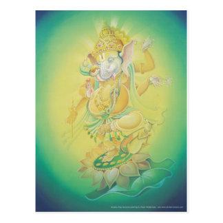 Ganesh Aura Postcard