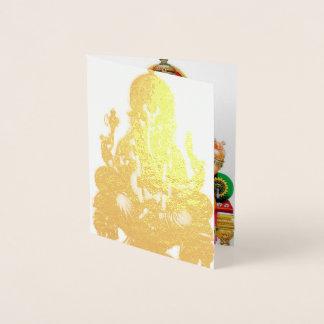 Ganesh Chaturthi 2017 Foil Card