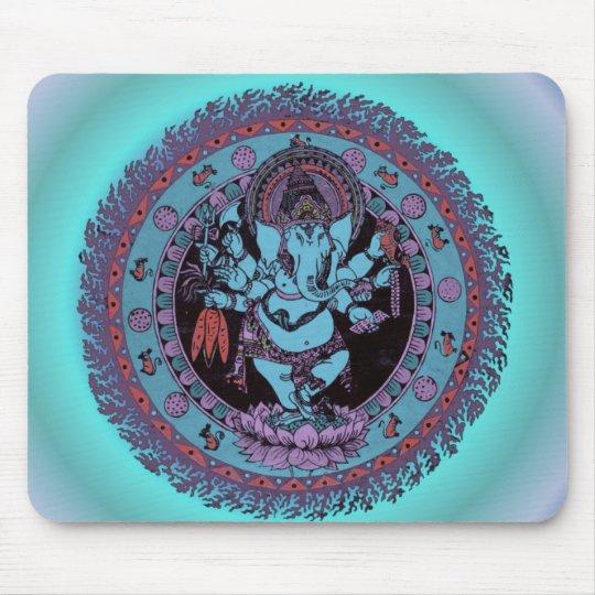 Ganesh Dancer Mouse Pad