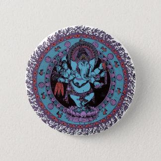 Ganesh Dancer Pinback Button