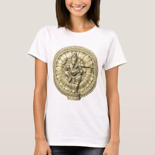 Ganesh (de oro) playera