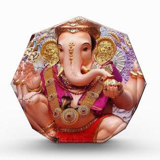 Ganesh Ganesha Hindu India Asian Elephant Deity Acrylic Award