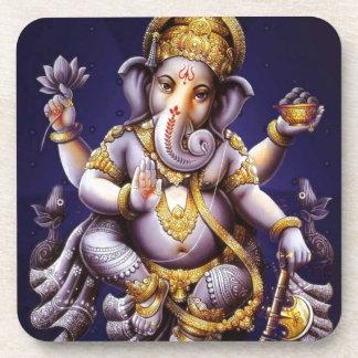 Ganesh Ganesha Hindu India Asian Elephant Deity Beverage Coaster