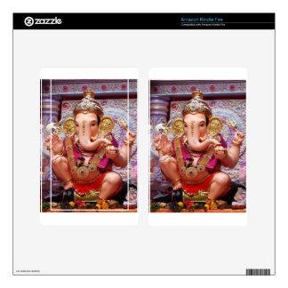 Ganesh Ganesha Hindu India Asian Elephant Deity Decal For Kindle Fire