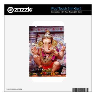 Ganesh Ganesha Hindu India Asian Elephant Deity Decals For iPod Touch 4G