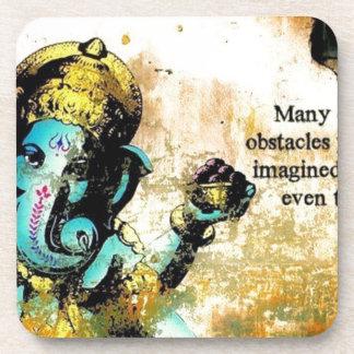 Ganesh Ganesha Hindu India Asian Elephant Deity Drink Coaster