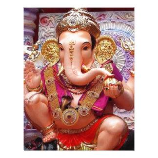 Ganesh Ganesha Hindu India Asian Elephant Deity Letterhead