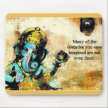 "Ganesh Ganesha Hindu India Asian Elephant Deity Mouse Pad<br><div class=""desc"">Ganesh Ganesha Hindu India Asian Elephant Deity गणेश. Ganesha is also known as Ganapati and Vinayaka.  His image is found throughout India.  Devotion to Ganesha is widely diffused and extends to Jains,  Buddhists,  and beyond India.</div>"