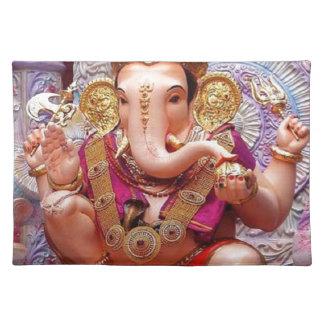 Ganesh Ganesha Hindu India Asian Elephant Deity Placemat