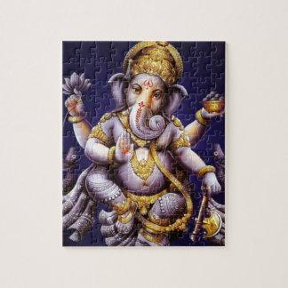 Ganesh Ganesha Hindu India Asian Elephant Deity Puzzle