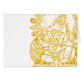 Ganesh: God of Success Greeting Card