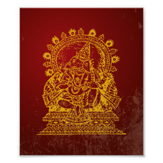 Ganesh God of Success Print