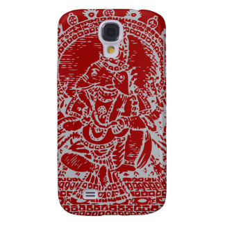 Ganesh: God of Success (silver) Galaxy S4 Cover