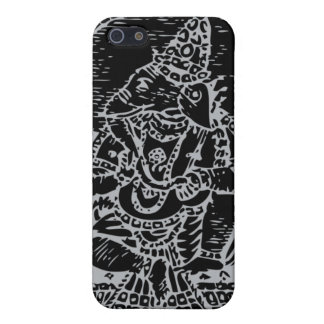 Ganesh: God of Success (silver) Cover For iPhone 5