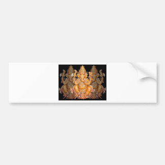GANESH HINDU GOD BUMPER STICKER