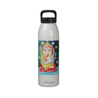 Ganesh Hindu God Ganesh The Hindu Elephant God Reusable Water Bottles