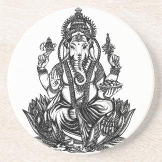 Ganesh Illustration Coaster