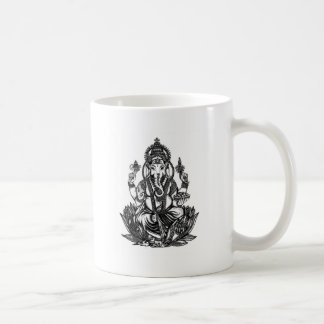 Ganesh Illustration Coffee Mug