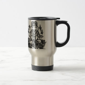 Ganesh Illustration Travel Mug