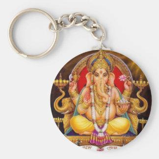 Ganesh Key Ring Keychain
