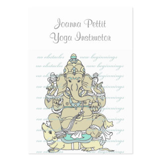 Ganesh Large Business Cards (Pack Of 100)