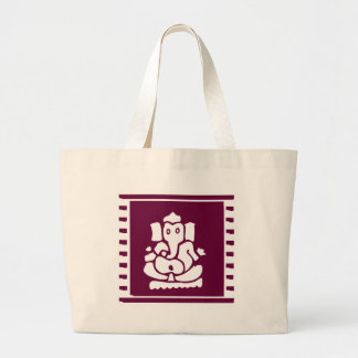 Ganesh Large Tote Bag