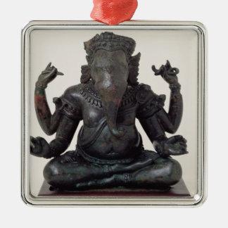 Ganesh, late 12th-early 13th century, Angkor Metal Ornament