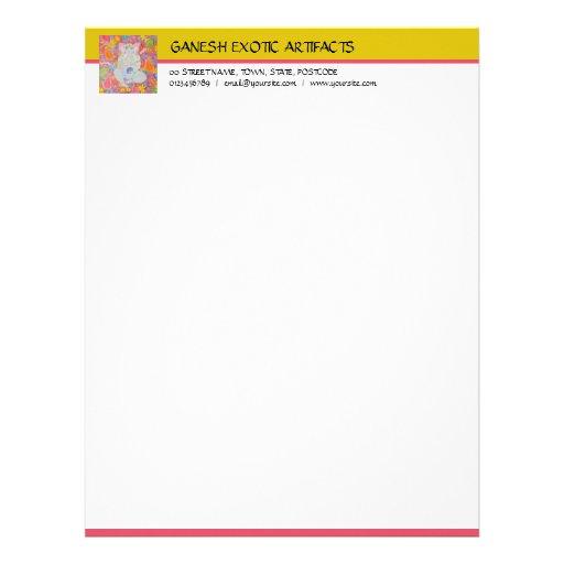 Ganesh Letterhead yellow