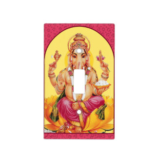 Ganesh Light Switch Cover