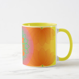 Ganesh lotus mug