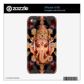Ganesh Mandala Zazzle Skin Decals For The iPhone 4