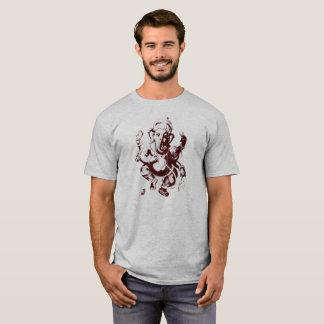 ganesh maroon T-Shirt
