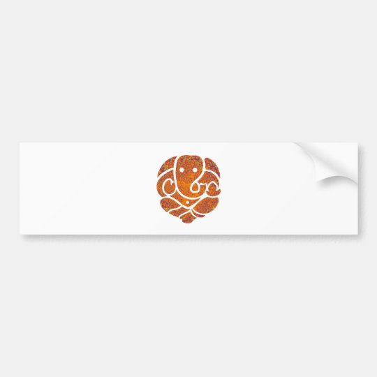 GANESH OF TIME BUMPER STICKER