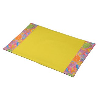 Ganesh Placemat yellow 2 placemat