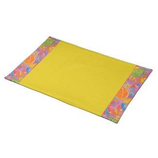 Ganesh Placemat yellow 2 placemat