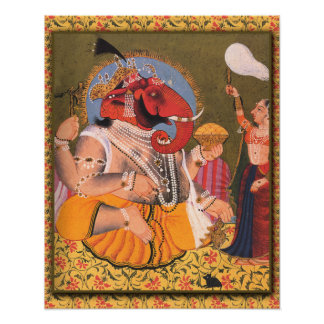 Ganesh Poster Suitable for Framing or Display