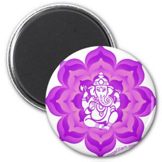 Ganesh purple design magnet