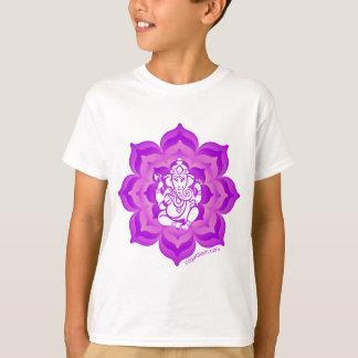 Ganesh purple design T-Shirt