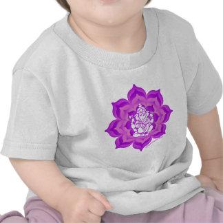 Ganesh purple design shirt