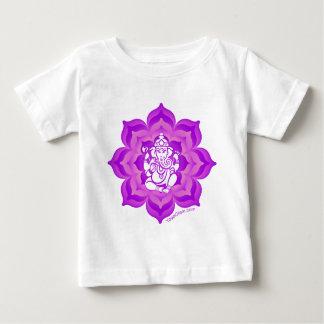 Ganesh purple design tees