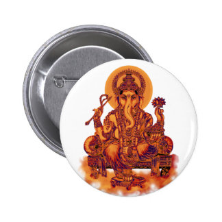 Ganesh - Remover of Obstacles 2 Inch Round Button
