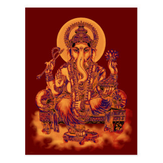 Ganesh - Remover of Obstacles Post Card