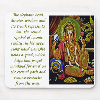 GANESH RENDITION MOUSE PAD